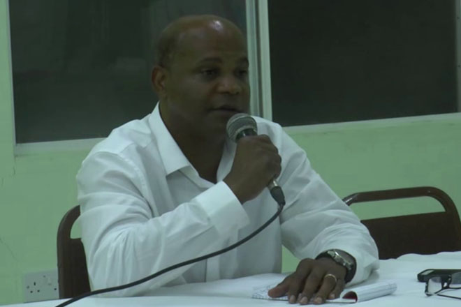 Tourism Minister Grant says his Ultimate Goal is to Build Capacity in St. Kitts and Nevis