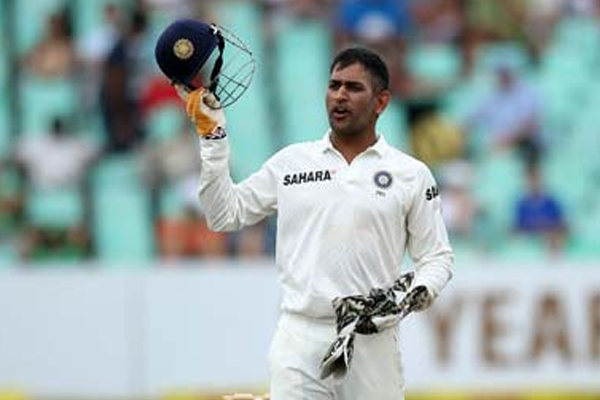 Dhoni retires from Test cricket