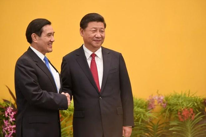 ROC President Ma Ying-jeou's remarks at meeting with mainland Chinese leader Xi Jinping