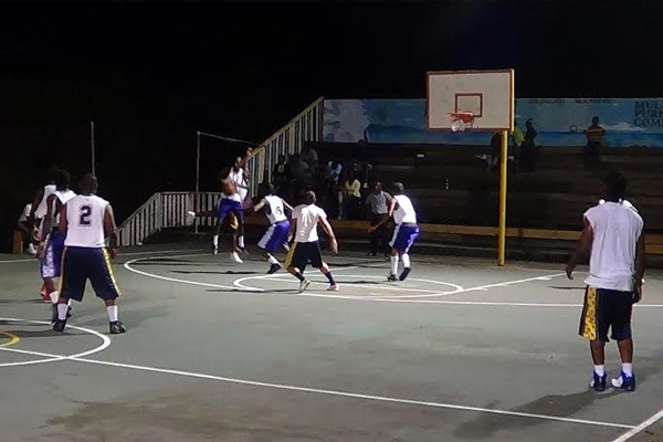 Excitement continues in Malcolm Guishard Basketball League