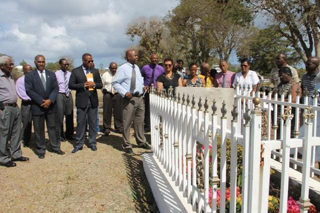 NIA honours memory of Minister Malcolm Guishard