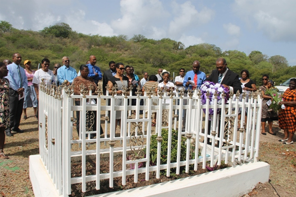 Nevis Administration remembers fallen colleague Malcolm Guishard