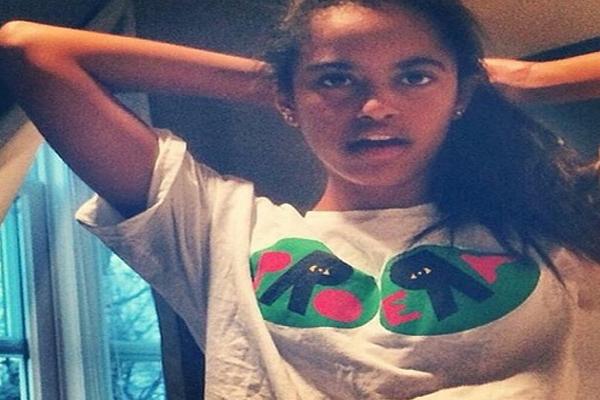Rare glimpse of Obama's daughter causes online stir