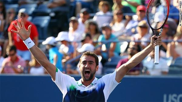 U.S. Open: Marin Cilic beats Tomas Berdych to make semifinals