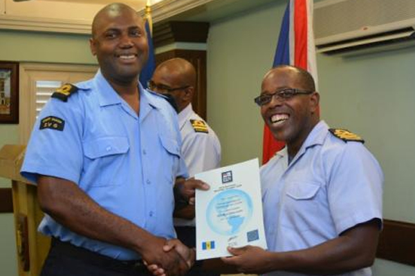 Maritime tactical planning course held at Barbados Coast Guard
