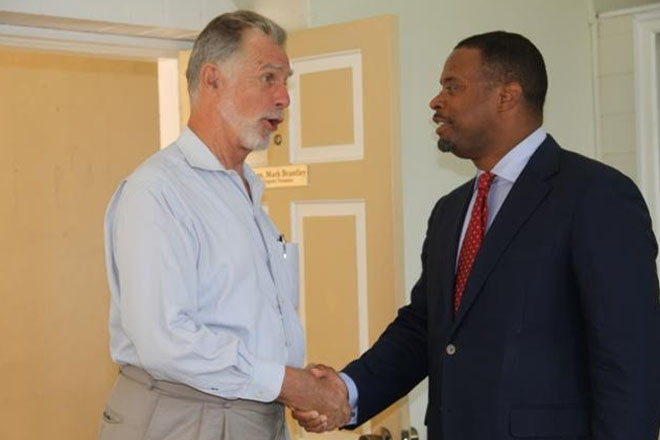German Ambassador to St. Kitts and Nevis pays courtesy call on Nevis Dep. Premier