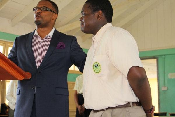 Nevis Tourism Minister praises new Caribbean Junior Tourism Minister Rol-J Williams