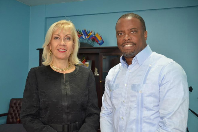 St. Kitts and Nevis bids farewell to outgoing Swiss Ambassador