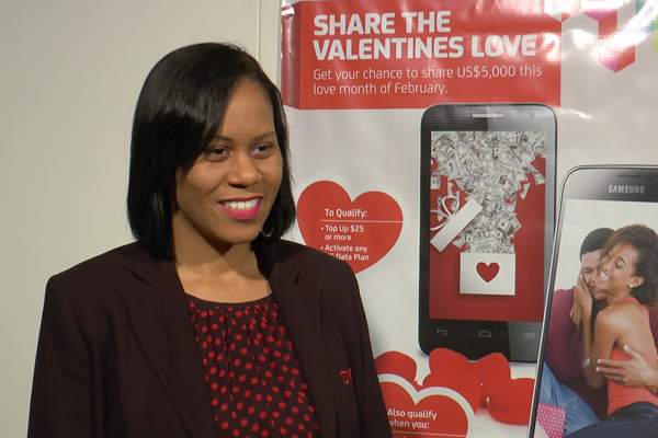 Digicel launches its Valentine's Promotion