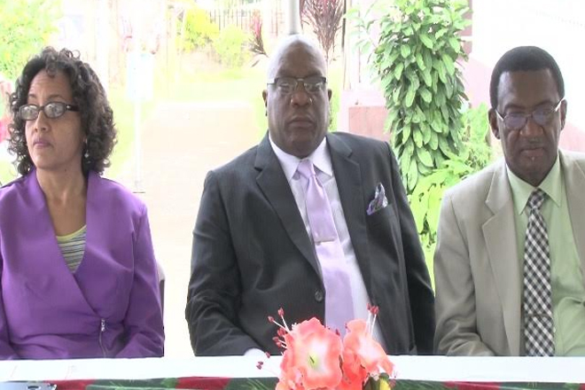 Government Officials Celebrate Christmas at Mary Charles Hospital