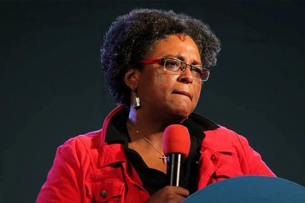 Mia Mottley blasts Barbados government policies