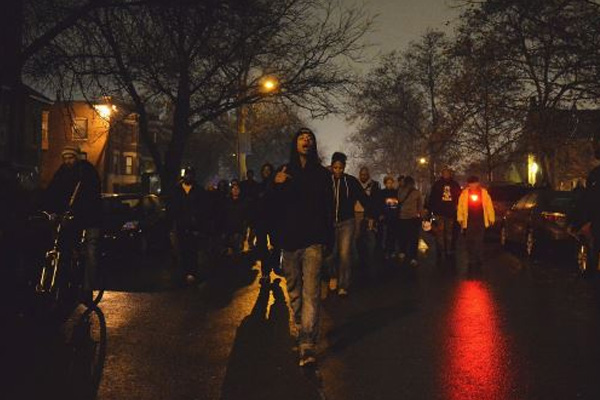 Protests over Ferguson ruling spread across US