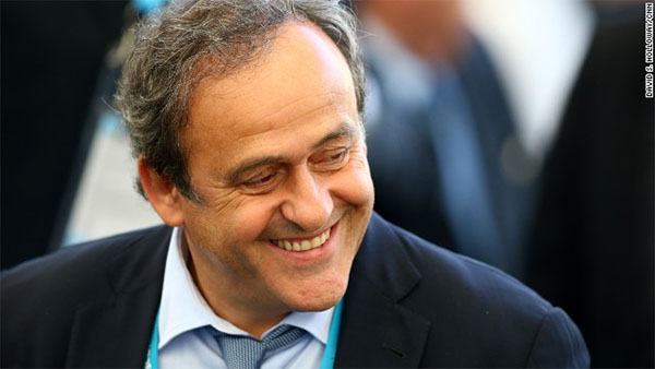Michel Platini breaks silence over Garcia investigation