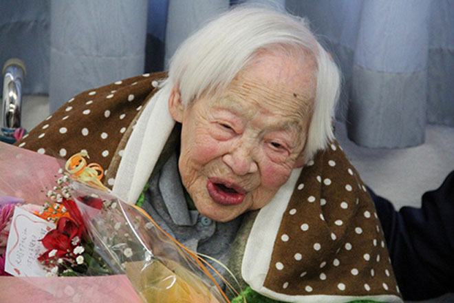 World's oldest person dies at 117 in Japan