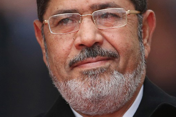 Ousted Egyptian leader Mohamed Morsy in court to face charges