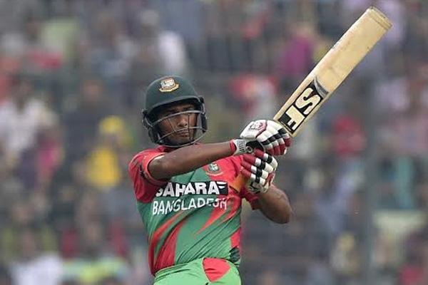Mahmudullah ton gives Bangladesh 288