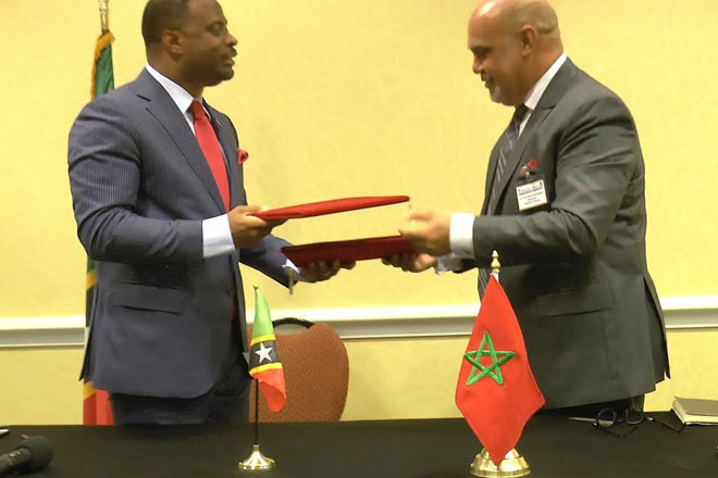 Signing of memorandums of understanding
