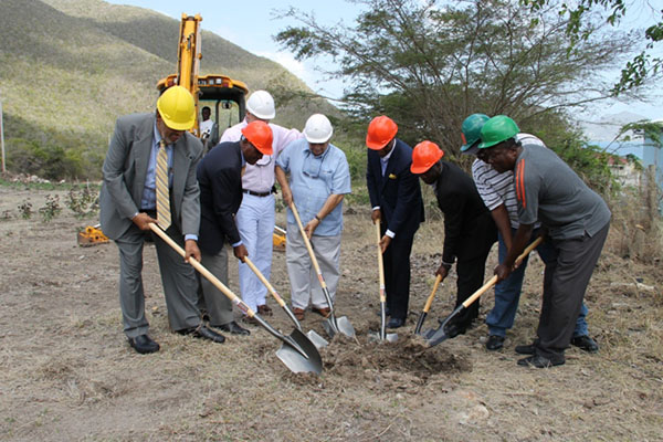 Mount Nevis Hotel breaks ground; heralds start of expansion project