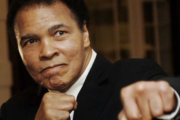 Muhammad Ali 'vastly improved' after bout of pneumonia