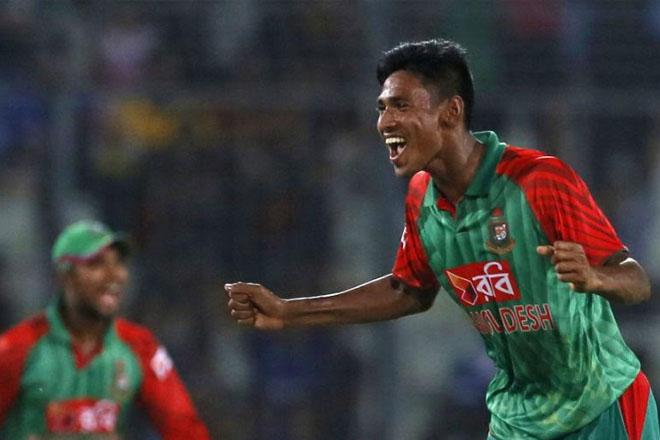 Mustafizur's five-for leads thumping win