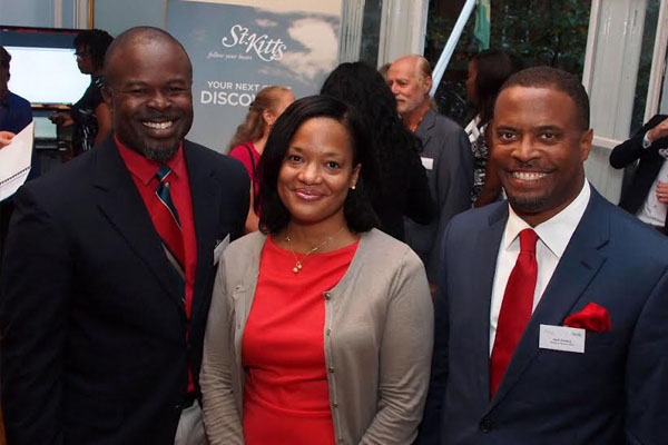Nevis Tourism Authority officials host tourism partners in the U.K.