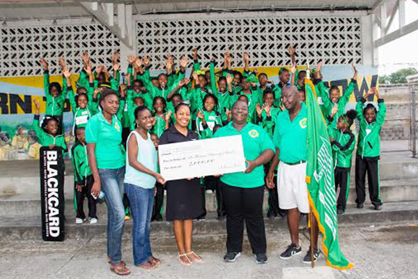 National Bank Sponsors St. Thomas Primary in the 2014 Inter Primary School Sports Meet in Nevis