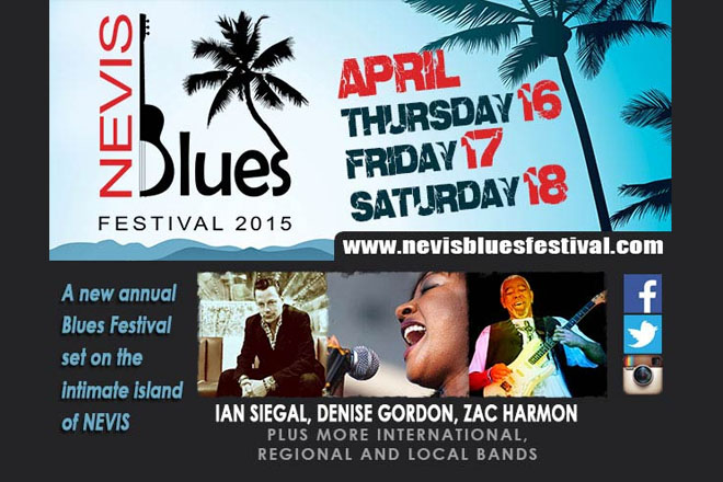 Nevis Blues Festival set for this Weekend, Producer expects Large Turnout
