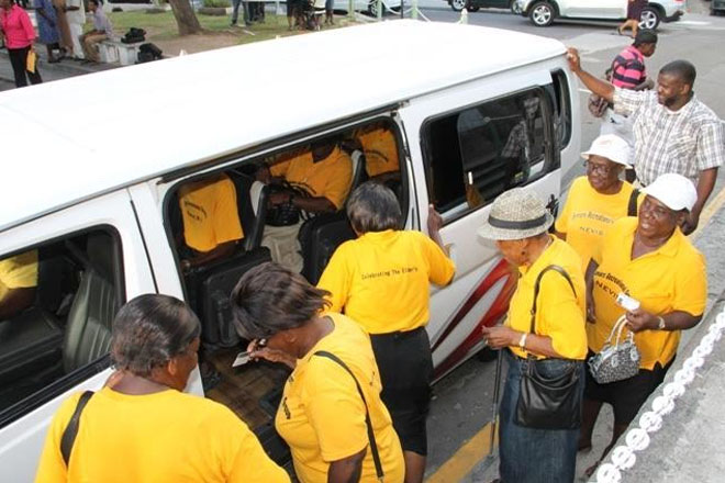 Nevis Bus Association partners with NIA to assist seniors