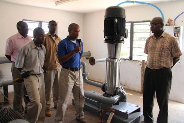 New booster pump improves water production at Fothergills Water Station