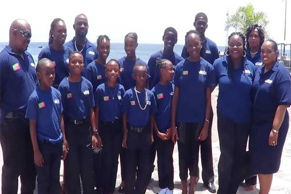 Nevis Team off to CUT Games