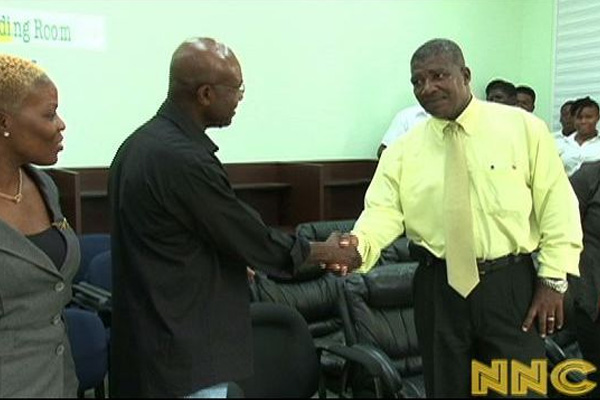 Florida based Nevis Association donates to Department of Education; CSS Library