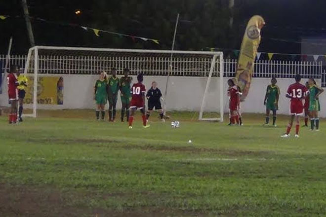 Trinidad and Tobago and St. Kitts-Nevis win openers in Under 17 Women's World Cup Qualifiers