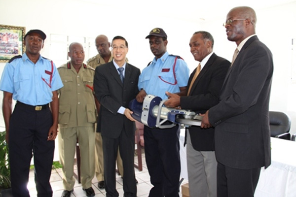 Nevis Premier commits to improve and equip Fire and Rescue Services on island