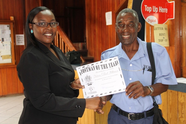 Nevis Postal Service honours past and present workers