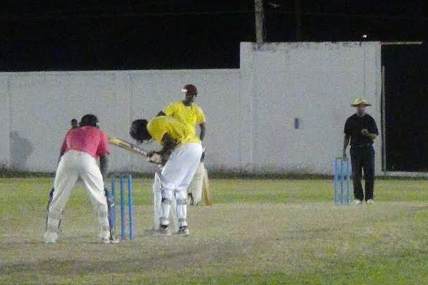Tonito Willet warms up for the CPL with Grand Ton