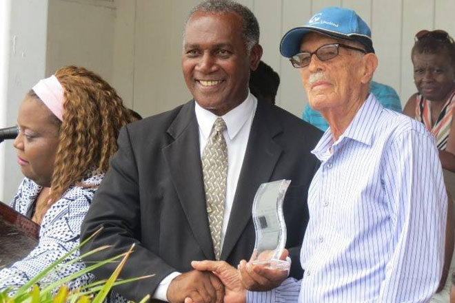 Four awarded for contributions to Nevis' Gulf Insurance Inter-Primary School Championships