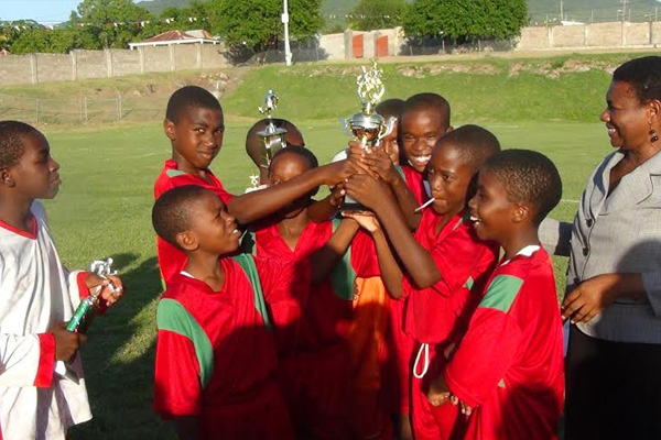 Top Performers Awarded in Primary School Football League