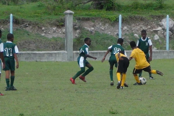 Exciting day in Primary School Football League