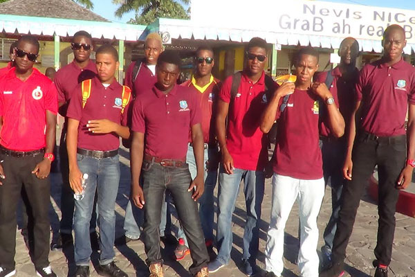 Nevis Team off to Montseratt – Finally