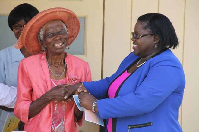 Ministry of Social Development on Nevis assists three seniors with housing