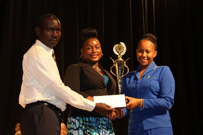 GSS student is Nevis' 2016-2017 Youth Junior Minister of Tourism