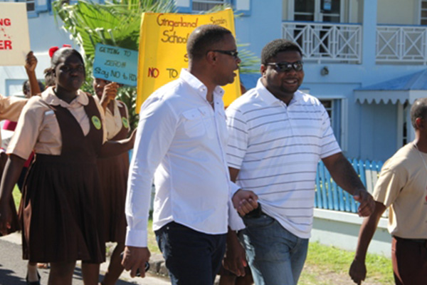 Nevis observes World AIDS Day with march through Charlestown