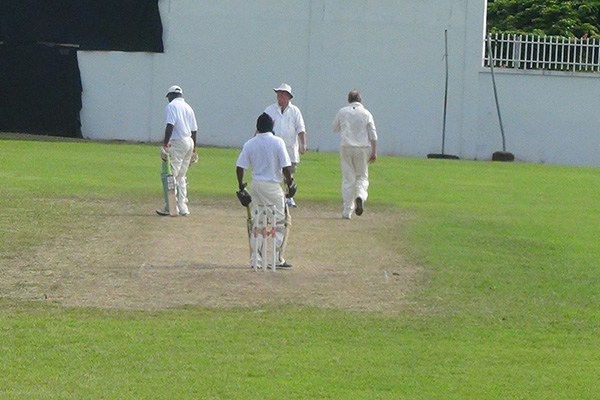 Nevis Over 35's defeats England Forties Club