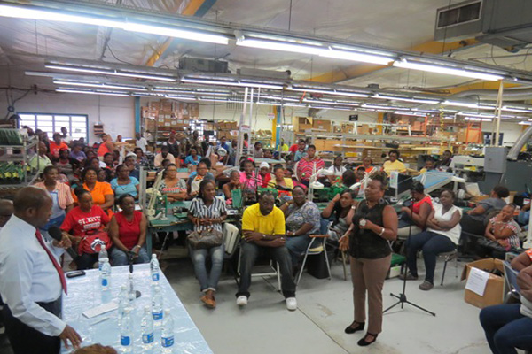 Launching ceremony for New National Minimum Wage and Long Service Gratuity