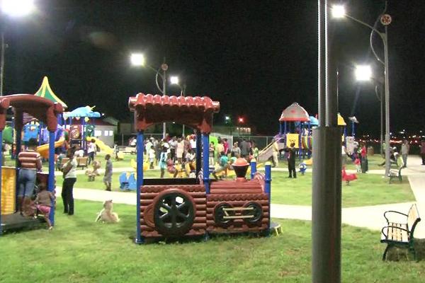 New Road Park Promotes Stronger Families – Safer Communities