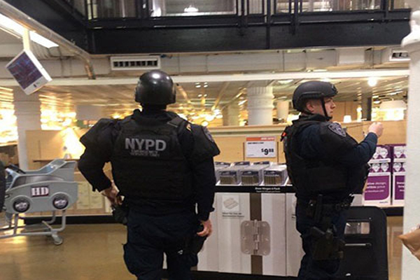 Man kills co-worker, then himself at NYC Home Depot