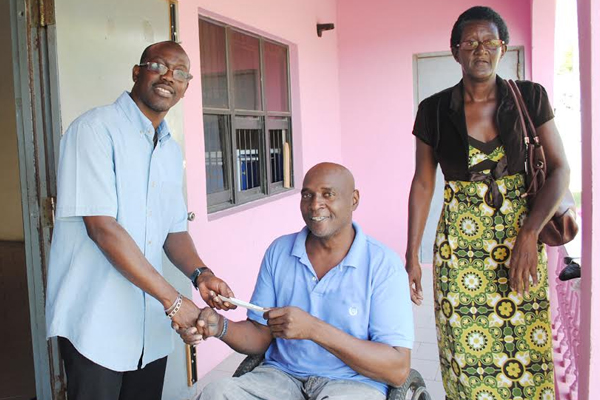 Nationals in the Diaspora donate to St. Kitts Nevis Association of Persons with Disabilities