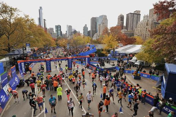 Oldest woman in New York City Marathon dies hours after crossing finish line