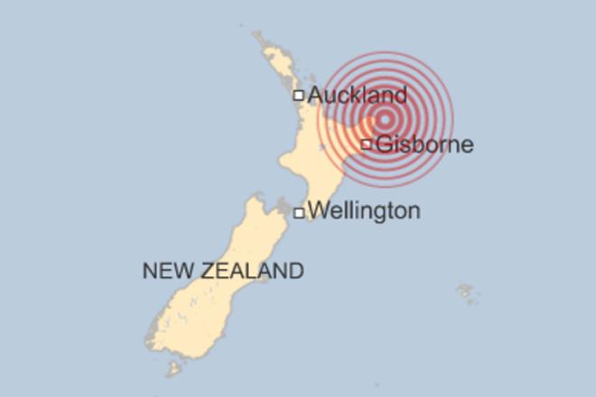 Powerful quake off north-east New Zealand coast