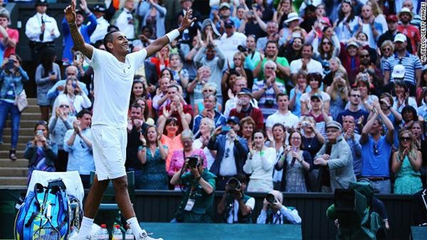 Wimbledon: Rafael Nadal succumbs to Australian teenager Krygios